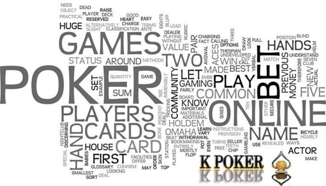 Expressions et termes de poker